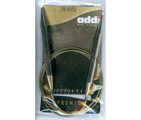 105-7-60/12-60 Addi спицы, круговые, супергладкие, никель, №12, 60 см.