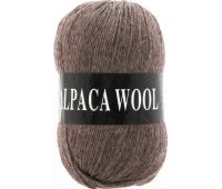 Vita Alpaka wool Коричневый меланж