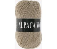 Vita Alpaka wool Бежевый меланж