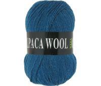 Vita Alpaka wool Морская волна меланж