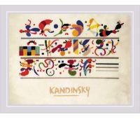 """РТ0080 Набор для вышивания """"Риолис"""" """"Последовательность, по мотивам композиции В. Кандинского"""" 40*30"""