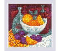 """1859 Набор для вышивания """"Риолис""""  Апельсины  20*20 см"""