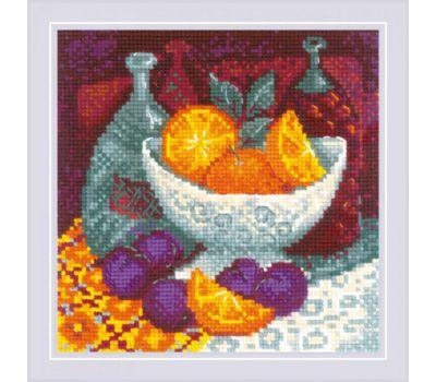 """1859 Набор для вышивания """"Риолис""""  Апельсины  20*20 см, 1859"""