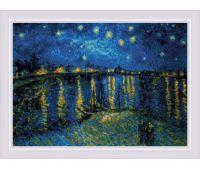 """1884 Набор для вышивания """"Риолис"""" Звездная ночь 38*26 см"""