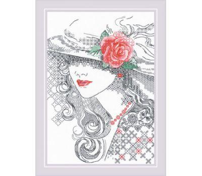 """1887 Набор для вышивания """"Риолис"""" Таинственная Роза 21*30 см, 1887"""