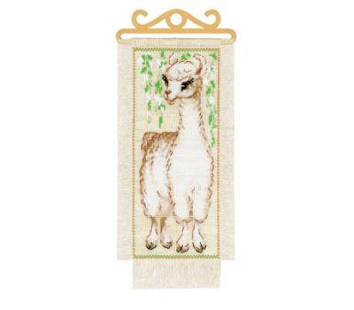 """1890 Набор для вышивания """"Риолис"""" Альпака 15*31 см, 1890"""