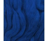 Пехорский текстиль Наборы для рукоделия Шерсть для валяния ПОЛУтонкая Корол. синий