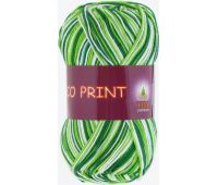 Vita cotton Coco print Зеленый меланж