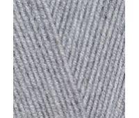 Alize Lanagold 800 Серый меланж