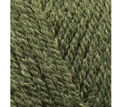 Alize Alpaca Royal Зеленый меланж, 567
