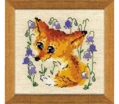 """1776 Набор для вышивания """"Риолис"""" Маленький лисенок 13х13 см, 1776"""