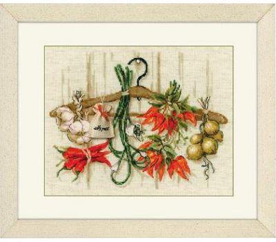 """1794 Набор для вышивания """"Риолис"""" Острые приправы 30х24 см, 1794"""