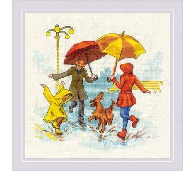 """1799 Набор для вышивания """"Риолис"""" Нет плохой погоды 23х23 см, 1799"""