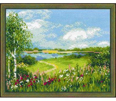 """1604 Набор для вышивания """"Риолис"""" Тропинка к пруду 30х24 см, 1604"""