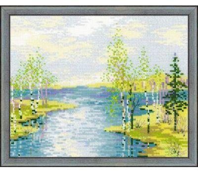 """1605 Набор для вышивания """"Риолис"""" Паводок 30х24 см, 1605"""