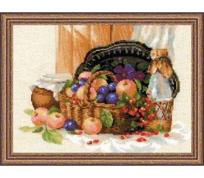 """1610 Набор для вышивания """"Риолис"""" Летнее изобилее 40х30 см, 1610"""