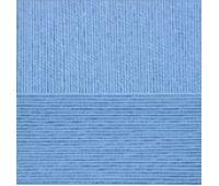 Пехорский текстиль Цветное кружево Тем голубой