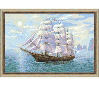 """1356 Набор для вышивания """"Риолис"""" Попутный ветер 60х40 см, 1356"""
