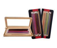 """47406 Knit Pro Набор прямых спиц длиной 30см """"Zing"""" (в наборе: спицы прямые-2,5мм, 3мм, 3,5мм, 4мм, 4,5мм, 5мм, 5,5мм, 6мм), алюминий, 8 видов спиц в наборе"""