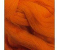 Троицкая камвольная фабрика Гребенная лента полутонкая Оранжевый