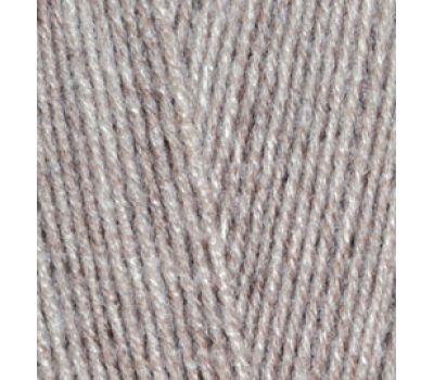 Alize Lanagold 800 Светло коричневый меланж, 207