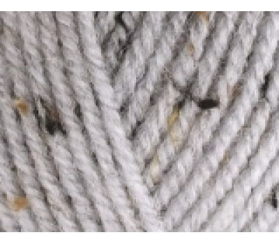Alize Alpaca Tweed Пепельный меланж, 684