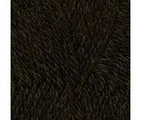 Троицкая камвольная фабрика Деревенька Темно коричневый