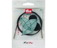 223982 Prym Леска съемная 80см пластик, с 2-мя наконечниками и устройством для монтажа, комбинируется со съемными спицами, 1шт