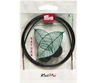 223984 Prym Леска съемная 120см пластик, с 2-мя наконечниками и устройством для монтажа, комбинируется со съемными спицами, 1шт