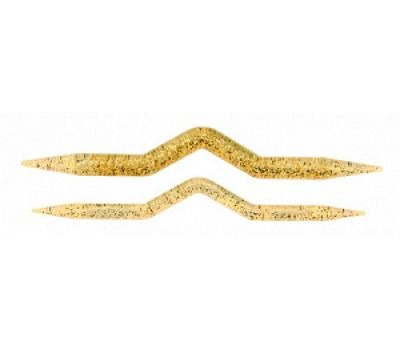 482-7 Addi Спицы для вязания кос и жгутов, пластик, 2 шт. на блистере, 482-7