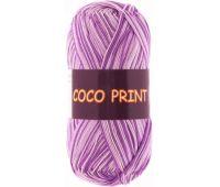 Vita cotton Coco print Сиреневый меланж