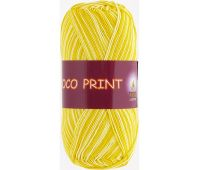 Vita cotton Coco print Лимонный