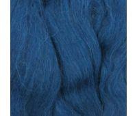 Пехорский текстиль Наборы для рукоделия Шерсть для валяния ПОЛУтонкая  Индиго