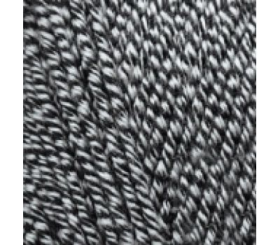 Alize Lanagold Черно белый, 601