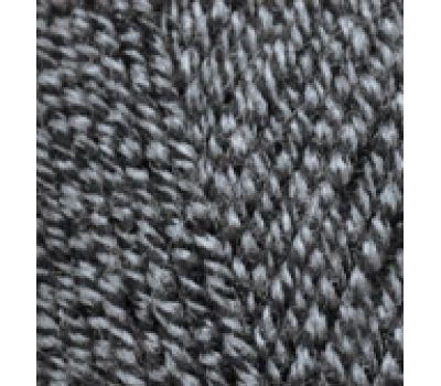 Alize Lanagold Черно серый, 600