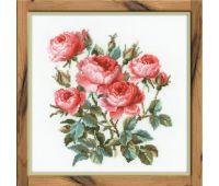 """1046 Набор для вышивания """"Риолис"""" Садовые розы 40х40 см"""
