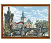 """1058 Набор для вышивания """"Риолис"""" Прага. Карлов мост 60х40 см"""