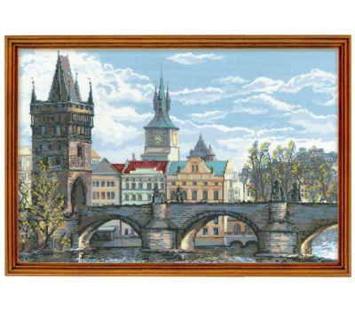 """1058 Набор для вышивания """"Риолис"""" Прага. Карлов мост 60х40 см, 1058"""