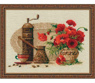 """1121 Набор для вышивания """"Риолис"""" Кофе 30х24 см, 1121"""
