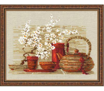 """1122 Набор для вышивания """"Риолис"""" Чай 30х24 см, 1122"""