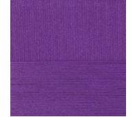 Пехорский текстиль Классический хлопок Темно фиолетоввый