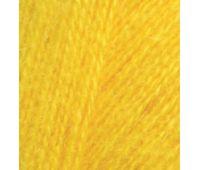 Alize Angora real 40 Ярко желтый