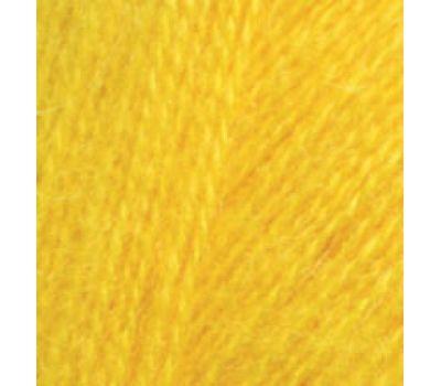 Alize Angora real 40 Ярко желтый, 216