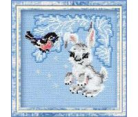 """798 Набор для вышивания """"Риолис"""" Зайчонок 15х15 см"""