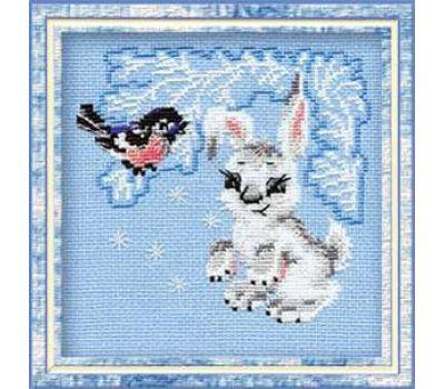 """798 Набор для вышивания """"Риолис"""" Зайчонок 15х15 см, 798"""