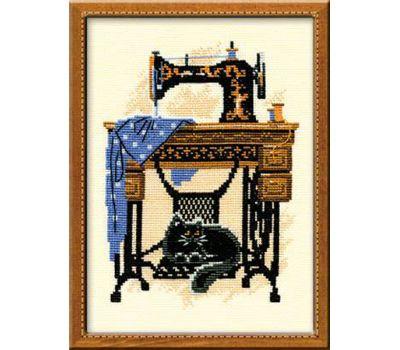 """857 Набор для вышивания """"Риолис"""" Швейная машинка 18х24 см, 857"""