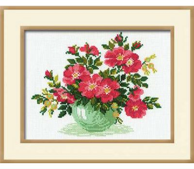 """871 Набор для вышивания """"Риолис"""" Дикая роза 30х24 см, 871"""