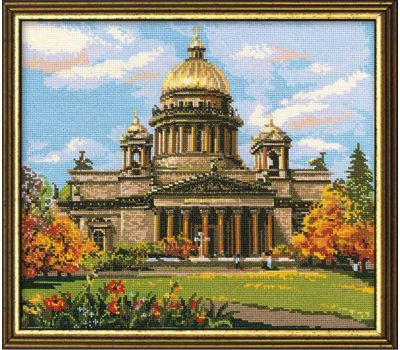 """923 Набор для вышивания """"Риолис"""" Исаакиевский собор 46х40 см, 923"""