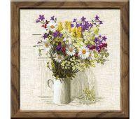 """924 Набор для вышивания """"Риолис"""" Полевые цветы 45х45 см"""