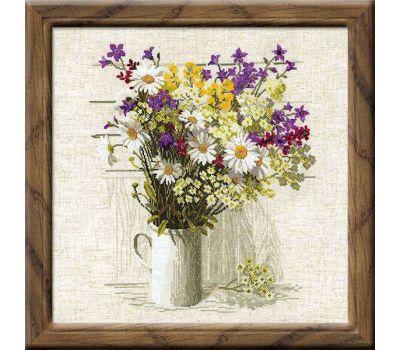 """924 Набор для вышивания """"Риолис"""" Полевые цветы 45х45 см, 924"""